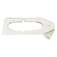 Backing Plate; 0-30 DEG Medium Rod Holders